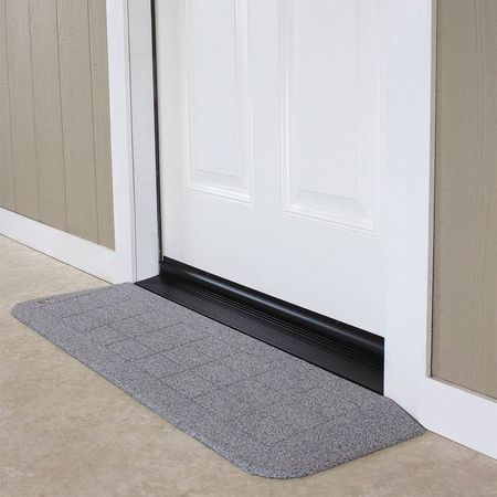 "ADA Ramp,1-1/8"" H,12-1/4"" L,42"" W,Gr SAFEPATH PRODUCTS BHR1110GG"