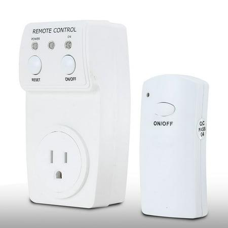 AC 120V 10A US Plug Wireless Remote Control US Socket Outlet w 1 Transmitter