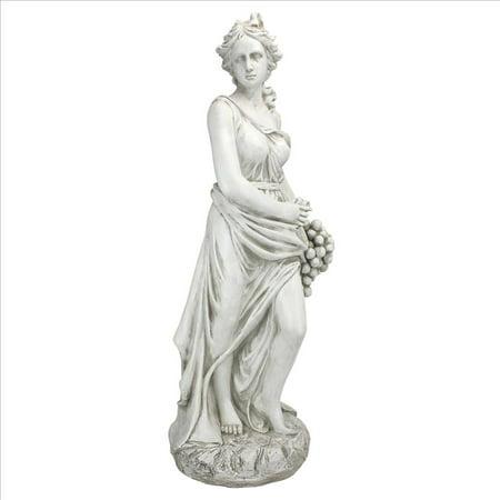 Design Toscano Autumn Goddess of the Four Seasons Statue