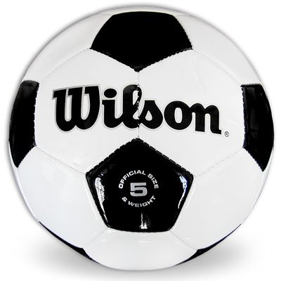 Wilson Synthetic Leather Soccer Ball Size 5 Leather Soccer Ball