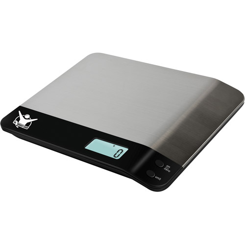 Taylor Biggest Loser Digital Kitchen Scale, Stainless Steel