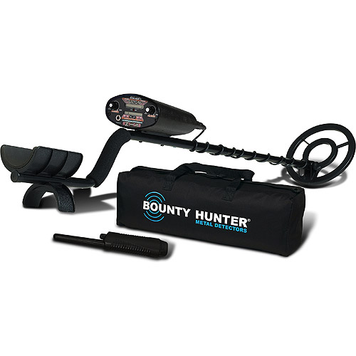 Bounty Hunter Quick Draw 2 Hobby Metal Detector with Bonus Pinpointer and Carry Bag