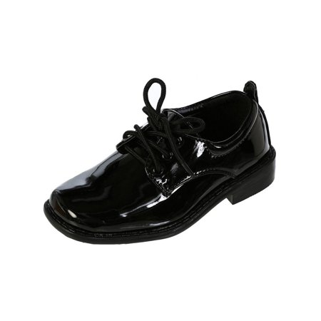 Avery Hill Patent Special Occasion Formal Oxford Dress Shoes - Available in White or Black ()