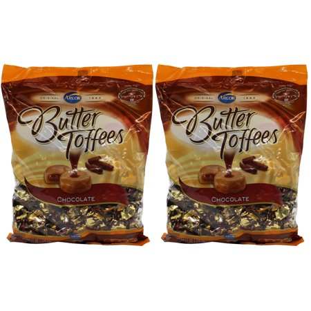 Arcor Butter Chocolate Kosher Toffee Dairy - Large (Pack of 2) 1 lbs 1.04 oz ...