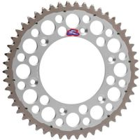 Renthal TwinRing Rear Sprocket 48 Tooth Silver Fits 01-16...