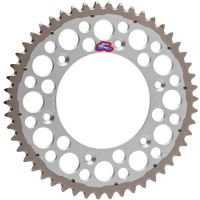 Renthal TwinRing Rear Sprocket 50 Tooth Silver Fits 02-16 Honda (Twinring Rear Sprocket)