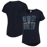 New York City FC Girls Youth Glory Dolman T-Shirt - Navy