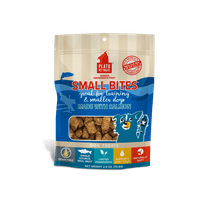 Plato Pet Treats Small Bites Salmon Grain-Free Dog Treats, 2.5 Ounce
