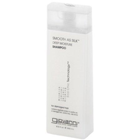 Giovanni Cosmetics Smooth As Silk Deep Moisture Shampoo, 33.8 oz.