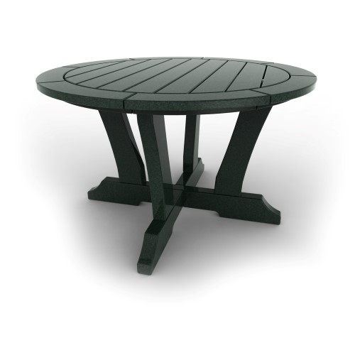 Round Patio Table by Malibu Outdoor - Laguna, Turf Green - 36\