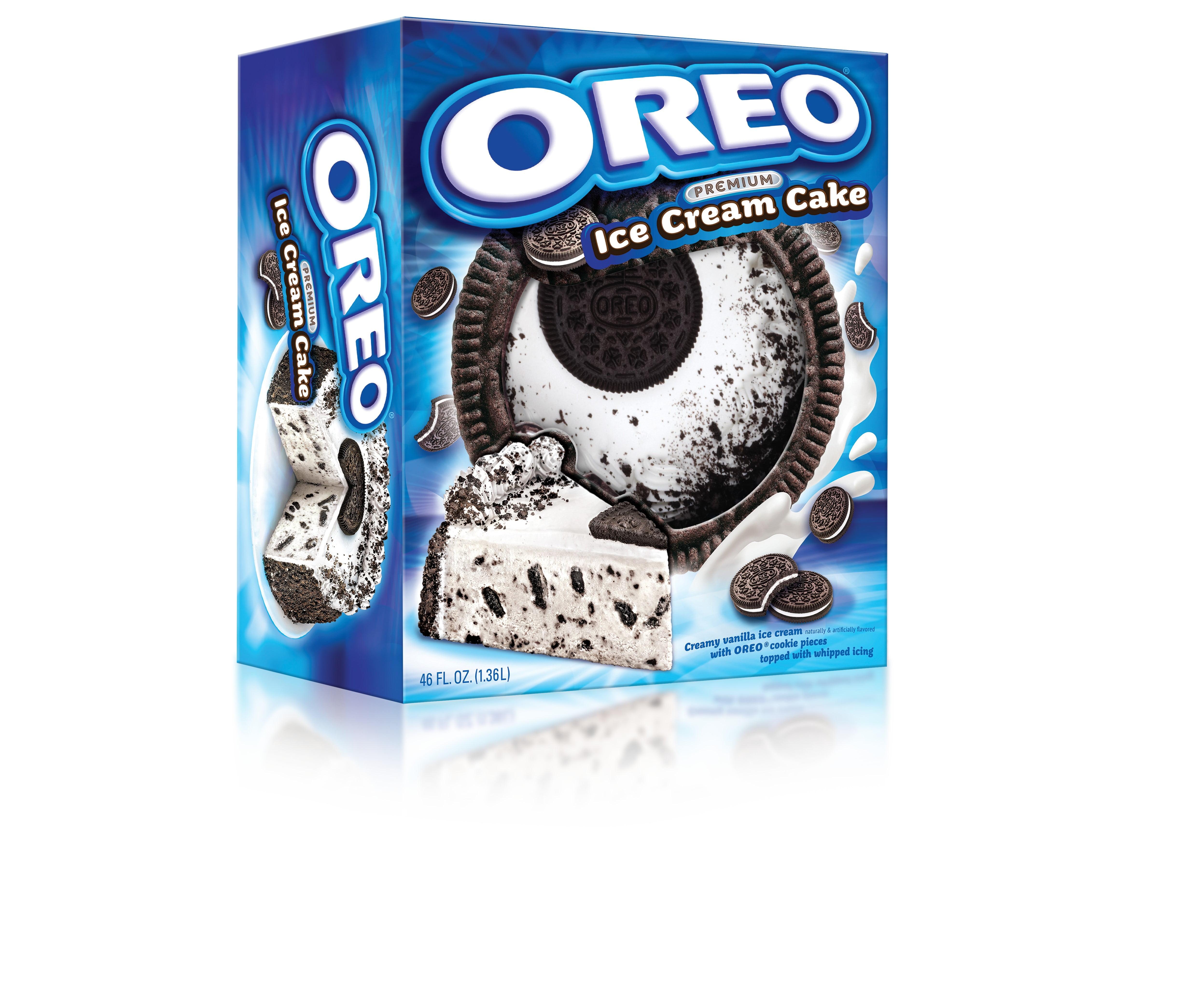 Oreo Premium Ice Cream Cake Made With Oreo Cookies And