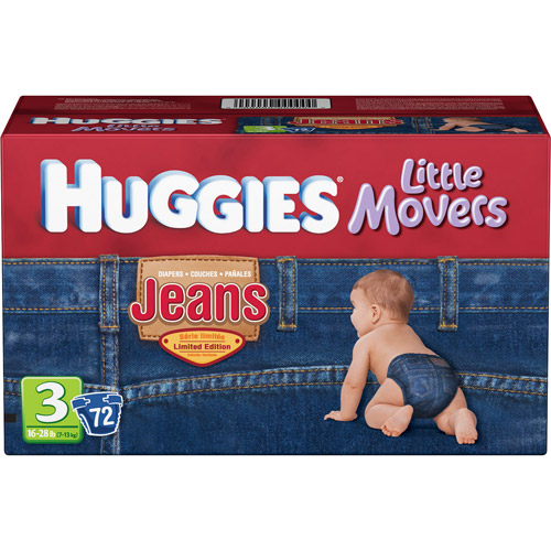 HUGGIES - Little Movers Jeans Diapers (choose your size)
