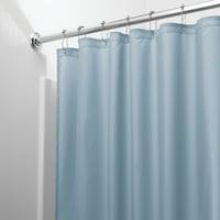 Product Image InterDesign Waterproof Fabric Shower Curtain Liner Slate Blue