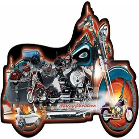ravensburger harley davidson 1000 piece accelerate. Black Bedroom Furniture Sets. Home Design Ideas