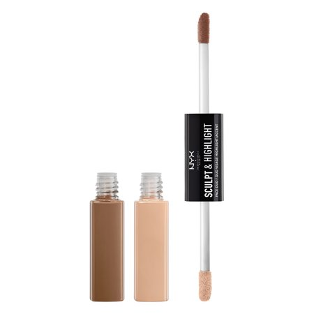 NYX Professional Makeup Sculpt & Highlight Face Duo, Taupe Ivory
