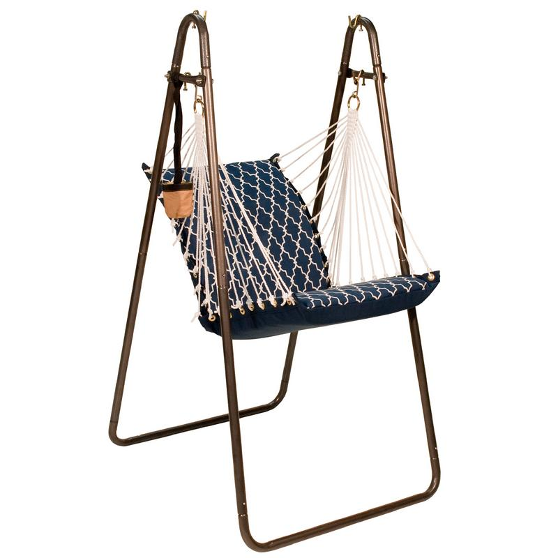 Soft Comfort Hanging Chair with Stand