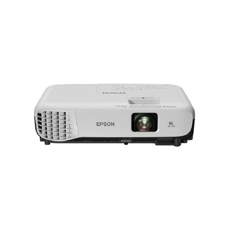 Epson VS250 SVGA 3,200 lumens color brightness (color light output) 3,200 lumens white brightness (white light output) HDMI 3LCD