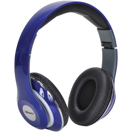 2boom hpm380b mixx over ear headphones with microphone blue. Black Bedroom Furniture Sets. Home Design Ideas