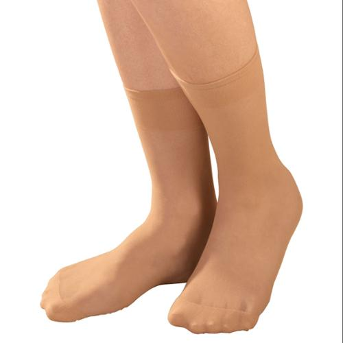 Diabetic Sheer Ankle Highs 5 Pair
