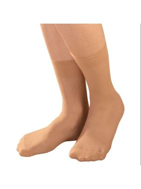 8c042a50a1c Product Image Diabetic Sheer Ankle Highs 5 Pair