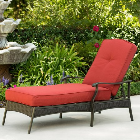 Better homes and gardens providence chaise lounge for Better homes and gardens hillcrest outdoor chaise lounge