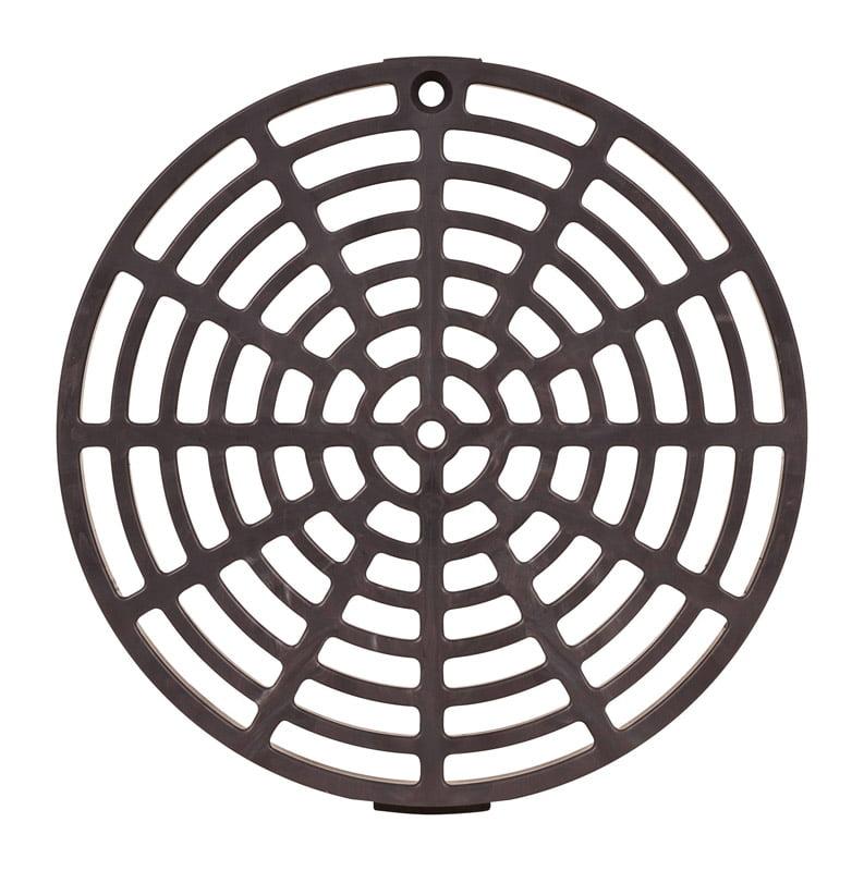 PVC DRAIN GRATE 6-1/8