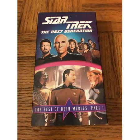 Star Trek: The Best Of Both Worlds Part 1 VHS (Star Trek Best Of Both Worlds Part 2)