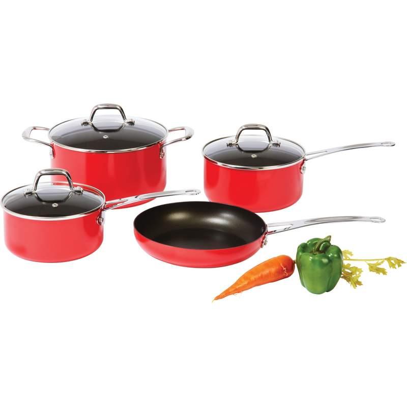Chef's Secret® 13pc Aluminum Cookware Set