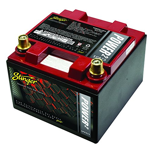 Stinger Spp925 925-amp Battery With Metal Case