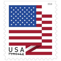 0d2de20c3138 Product Image Official USPS FOREVER® 2018 US Flag Book Of 20 Stamps