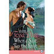 Castles Ever After: When a Scot Ties the Knot: Castles Ever After (Paperback)(Large Print)