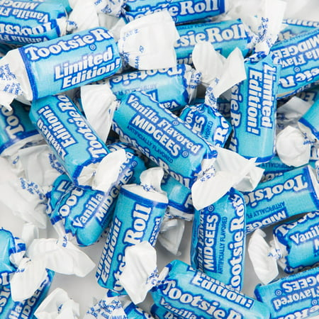Tootsie Rolls, Vanilla Midgees, 12 Oz, 50 Ct - Tootsie Roll Dress