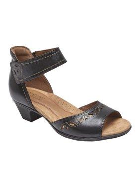 afcbc353051 Product Image Women s Rockport Cobb Hill Abbott 2 Piece Ankle Strap Sandal