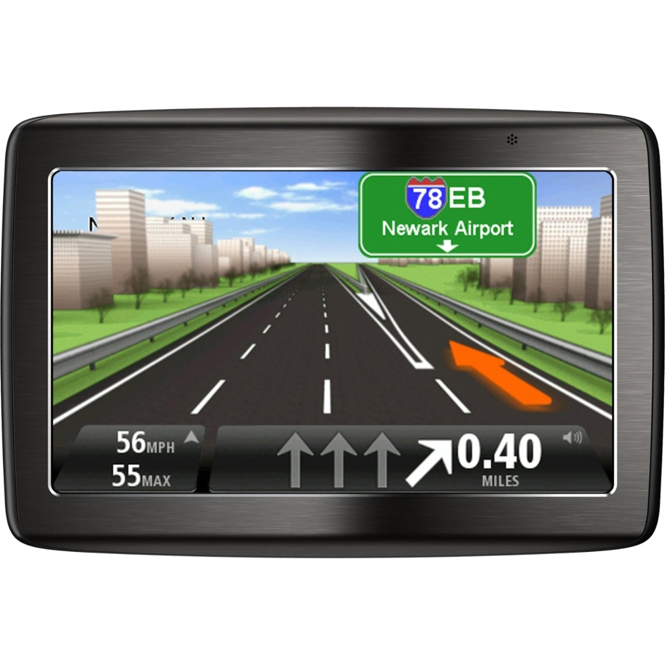 "Tomtom Via 1415m Automobile Portable Gps Navigator - Portable, Mountable - 4.3"" - Touchscreen - Turn-by-turn Navigation, Lane Assist - Yes - Lifetime Map Updates - Car (1en4-052-10)"