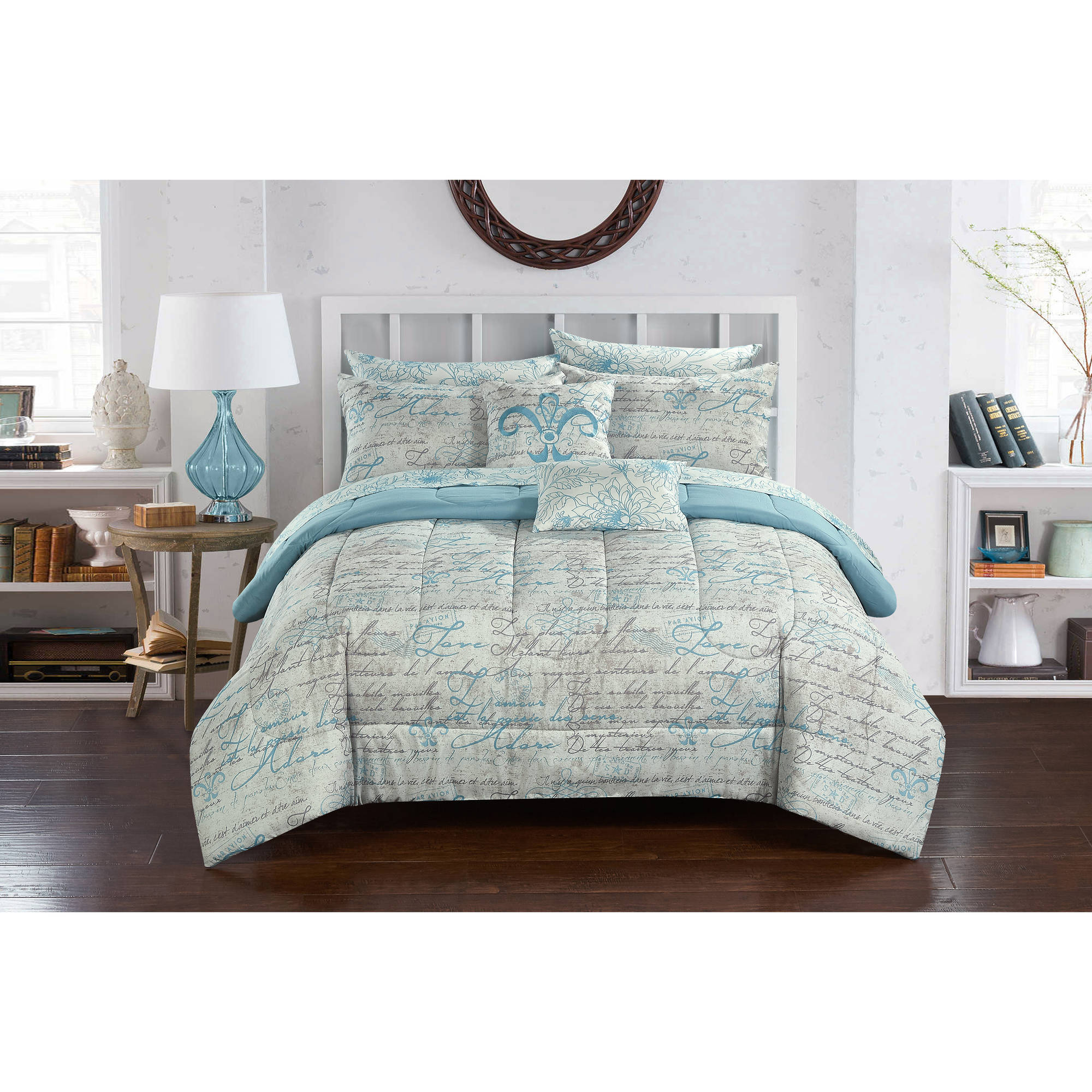 Casa Paris Bed-in-a-Bag Bedding Set