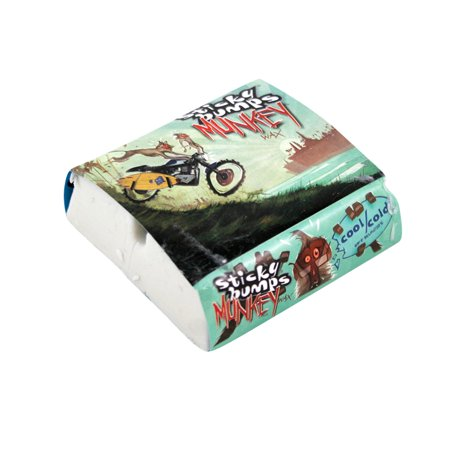 Sticky Bumps Surf Wax Munkey Cool Cold White Pack Of 3