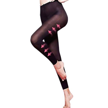 Best Gifts for Ladies Compression Nylon Stretchy Leggings Pants Outfit Tihght Skin Trousers for (Best Fitting Black Leggings)