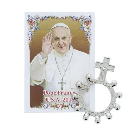 Pope Francis USA 2015 Finger Rosary