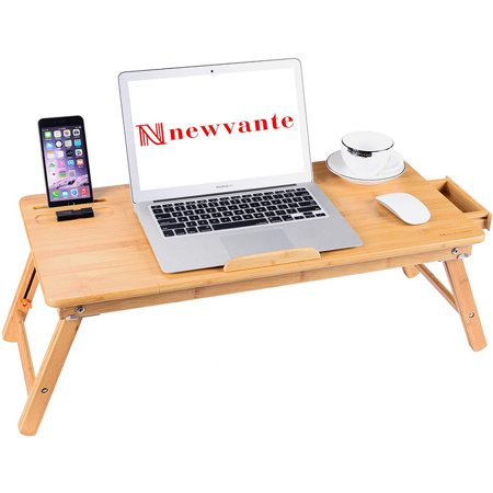 Swell Bamboo Folding Laptop Table Lap Desk Bed Portable Computer Tray Stand Holder Wood Read Interior Design Ideas Truasarkarijobsexamcom