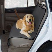 """Yes Pets Waterproof Dog Car Seat Cover, Gray, 56""""L x 47""""W x 0.25""""H"""