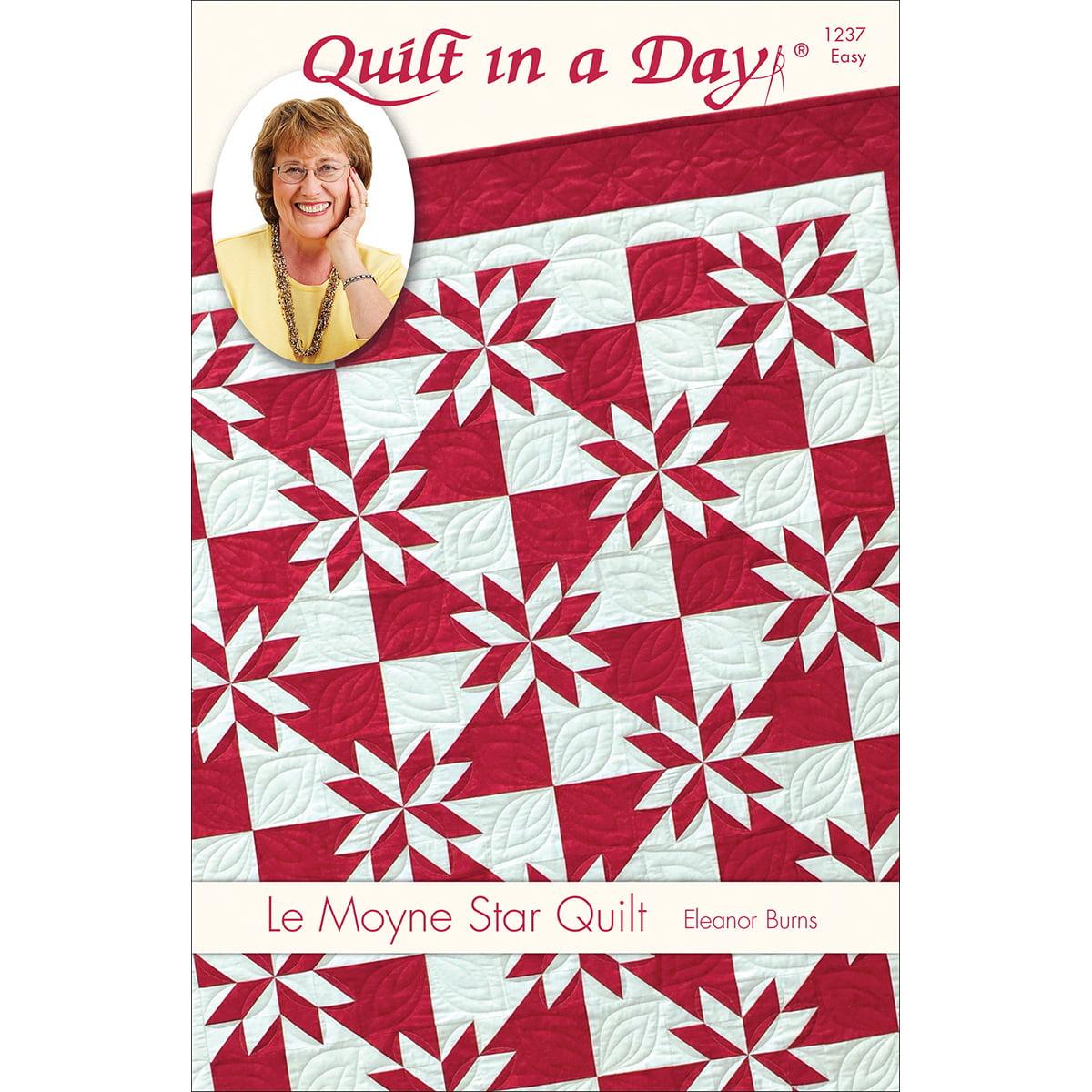 Eleanor Burns Patterns-Le Moyne Star Quilt