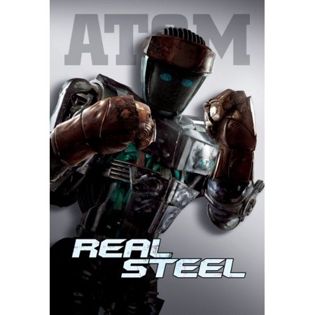 Real Steel Movie Poster Atom 16