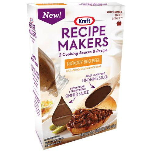 Kraft Recipe Makers Hickory BBQ Beef, 16.7 oz