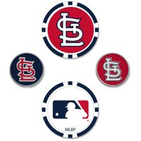 St. Louis Cardinals Ball Marker Set - No Size