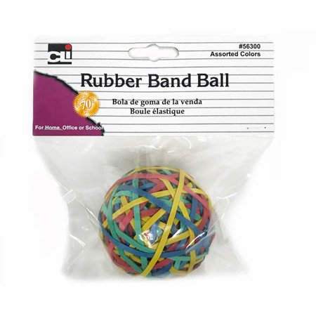 """Rubber Band Ball (2.95"""" x 0.125"""") assorted colors"""
