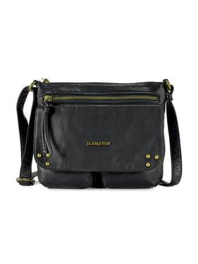 93f9b4aee6e Product Image Scarleton Trendy Stitch Accent Flap Crossbody Bag H1992