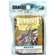 Card Supplies Dragon Shield Brown Card Sleeves [50 ct]