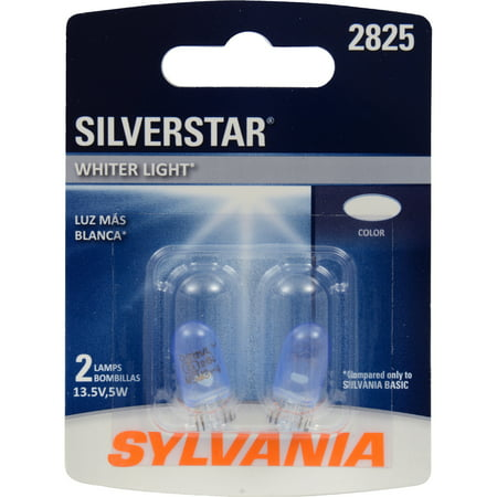 SYLVANIA 2825 SilverStar Mini Bulb, Pack of 2