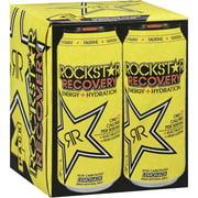 Rockstar Recovery Lemonade Energy Drink, 16 Fl. Oz., 4 Count