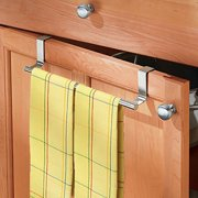 Peralng 14 Ultra Firm Stainless Steel Single Rod Duster Cloth Kitchen Towel Bar Holder For